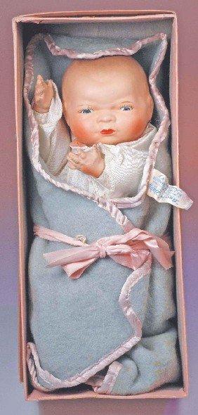 GERMAN COMPOSITION BYE-LO BABY IN ORIGINAL BOX - B