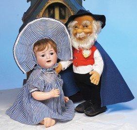 KAMMER & REINHARDT GERMAN BISQUE CHARACTER BABY