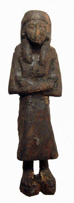 Wood 'reis' Or 'overseer' Ushabti, New Kingdom