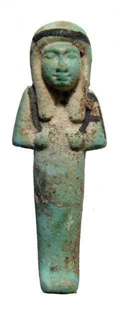 Attractive Bicolor 3rd Intermediate Ushabti