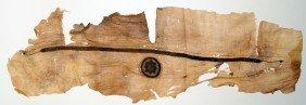 Large Piece Of Coptic Tunic-decorative Embroidery
