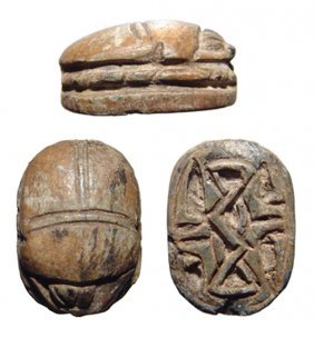 Middle Kingdom Scarab, Ex Royal Athena Galleries
