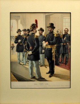 Print, Officers & Enlisted Uniforms, H. A. Ogden