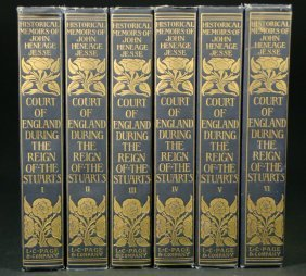 Books (6) Vols Reign Of The Stuarts By Page