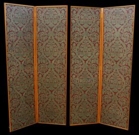 Screen (2pcs), Painted Canvas