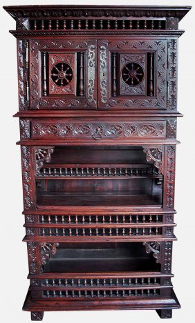 Whatnot Cabinet, 19th Century