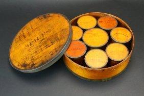 Bentwood 9 Piece Spice Box Set