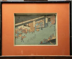 Woodblock Prints, Medical Shops, Japanese