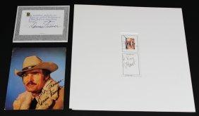 Autographs, Dennis Weaver, Paul Brent