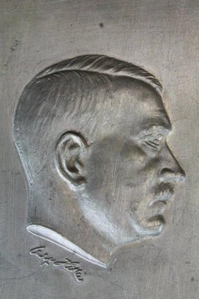 Adolf Hitler Profile For Wall Plaque