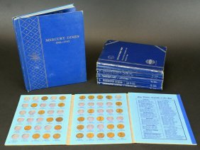 (5) Books, Coin Collections, Various