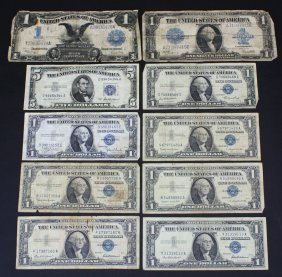 (10) Silver Certificates