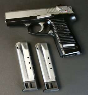 Ruger P95 9mm Pistol With 2 Magazines