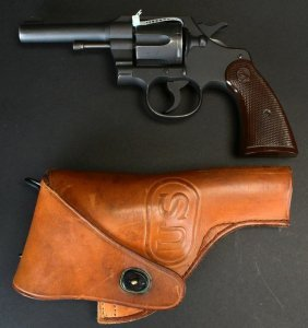 """Colt Commando, 4"""", .38 Special, W/ Holster"""
