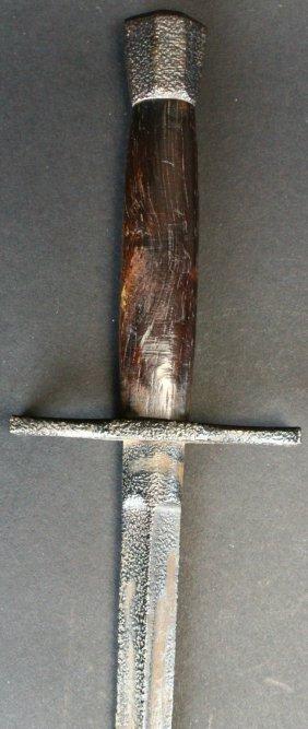 Dagger, Triaganol Bladed C 18th Century