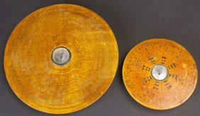(2) Geomancer's Compasses, Chinese, 19th C.