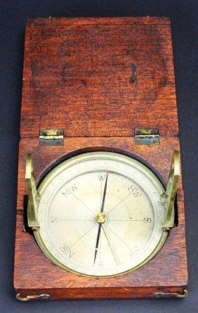 Surveyor's Compass, C. 1840