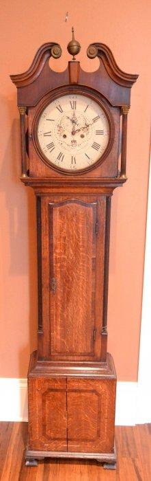 Tall Clock By Samuel Hill, Sheffield, C 1790