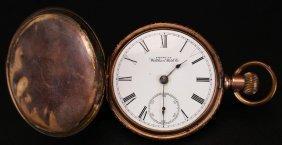 Pocket Watch, Gold Waltham