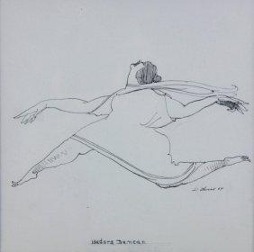 I/p, 'isadora Duncan', David Levine