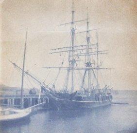 Photograph, Whale Ship Bertha, C. 1880