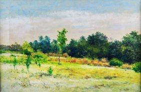 O/c Painting Crescent City, Fl, George F Morse