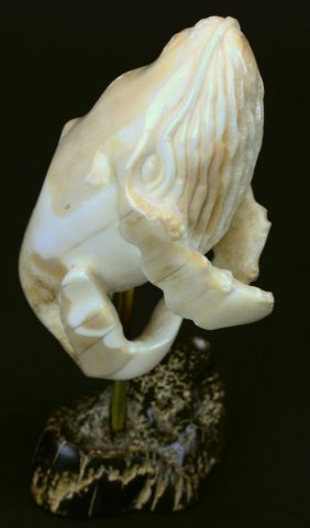 Walrus Ivory Humpback Whale Carving