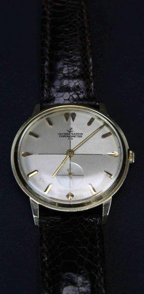 Ulysse Nardin Chronometer Co. 14kt Mans Watch