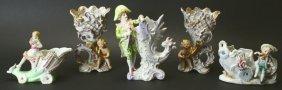 (5) Porcelain Figures, Occ Japan