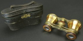Brass And Mother Of Pearl With Case, Audemair