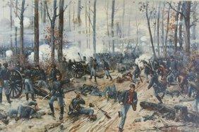 Print, Battle Of Shiloh, Prang