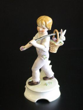 Goebel Lore 239 Summer Magic, Figurine # A390, 8.