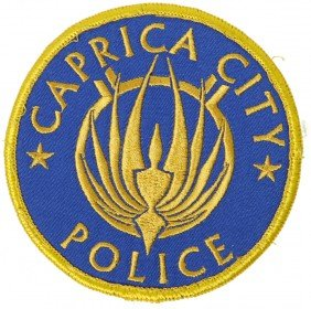 Battlestar Galactica Caprica City Police Patch