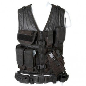 SGU Everett Young Black Tactical Vest