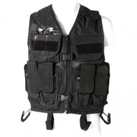 SGU Black Tactical Vest