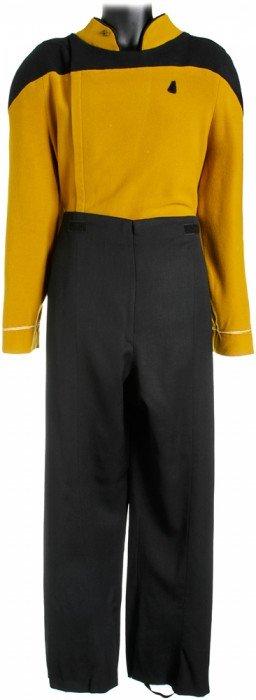 Star Trek: Generations Prototype Starfleet Uniform