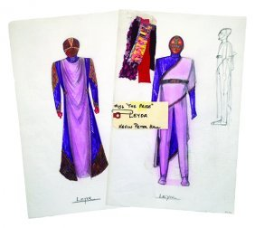 Star Trek: Tng Leyor Original Concept Artwork