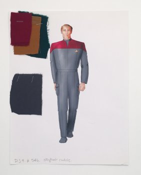 Star Trek: Ds9 Starfleet Cadet Concept Illustrations