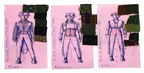 Star Trek: Ds9 Little Green Men Concept Collection