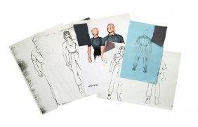 Star Trek: Voyager Starfleet Uniform Concept Artwork