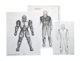 Star Trek: Voyager Original Hirogen Concept Artwork