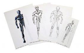 Star Trek: Voyager 29th Century Borg Concept Artwork