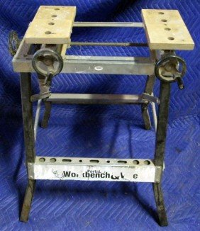 PORTABLE WORKBENCH & VICE