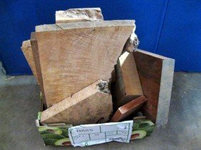 EXOTIC WOOD BLOCK LOT