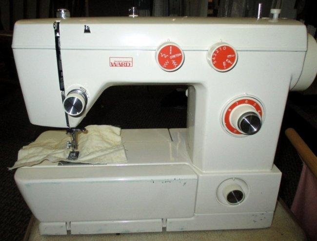 montgomery ward sewing machine manual