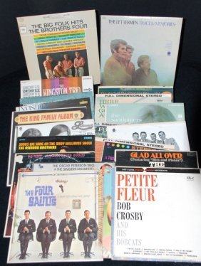 24 Lp's Inc. The Brothers Four & Kingston Trio Plus