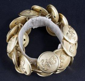 Twenty-six Navy Gaunt Birmingham Brass Buttons