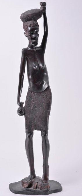 Hand Made Female Floor Sculpture