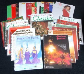 Large Selection Christmas Piano Books