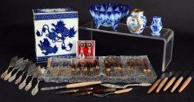 Malaysian, Portuguese, Russian Brass & Ceramics